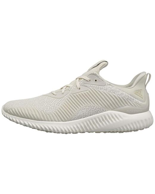 1f6faf467 ... Adidas - White Alphabounce Hpc Ams M Running Shoe for Men - Lyst ...