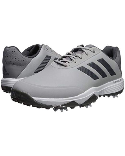 online store 42d26 ec1d1 ... Adidas - Gray Golf Adipower Bounce Golf-shoes for Men - Lyst ...