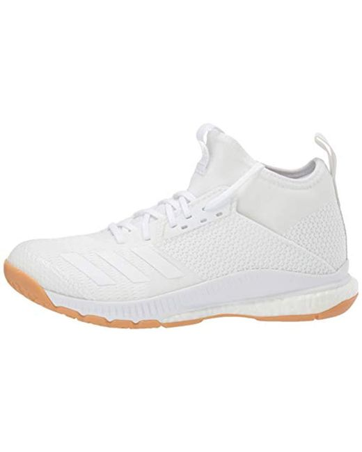 adidas Crazyflight X 3 Mid Volleyball Shoe in White - Lyst