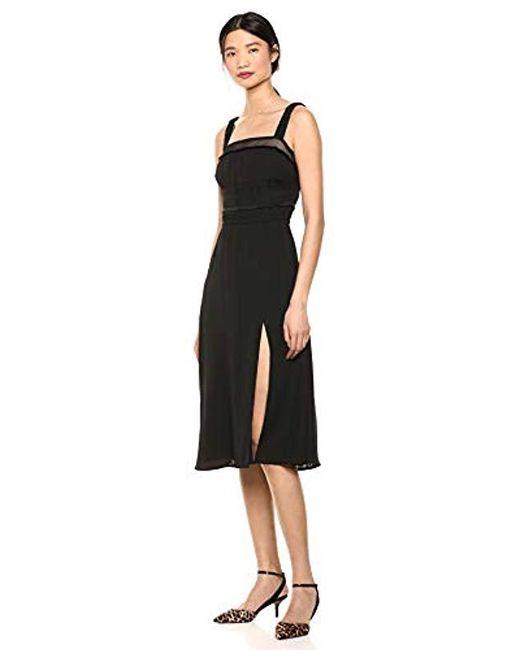 Ali & Jay Black Sleeveless Midi Dress