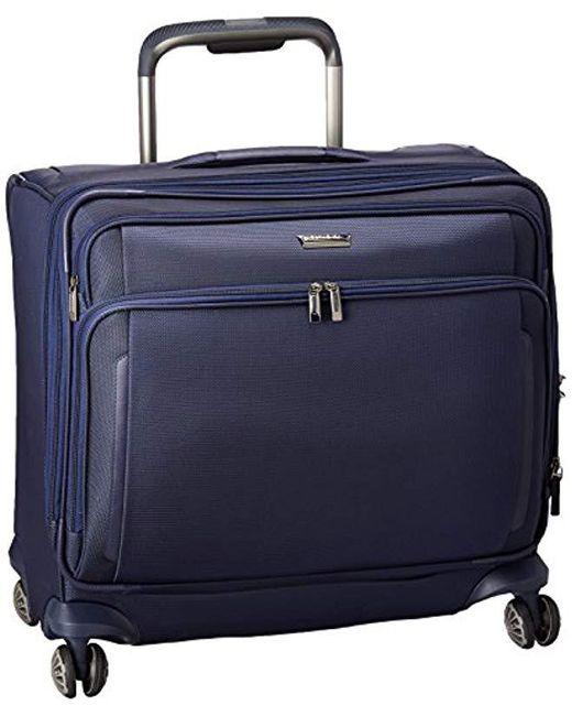 Samsonite - Blue Silhouette Xv Softside Medium Glider Case for Men - Lyst