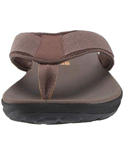 43c4bd393753b Men's Brown Step Beat Dune Flip-flop