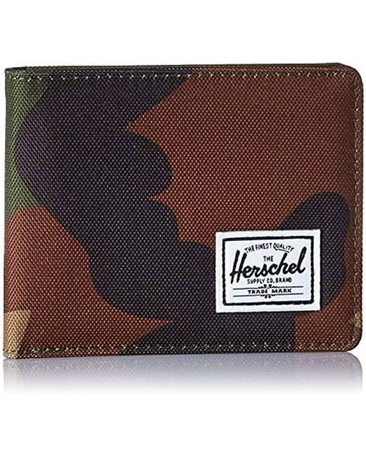 Herschel Supply Co. - Green Roy Rfid Wallet, for Men - Lyst