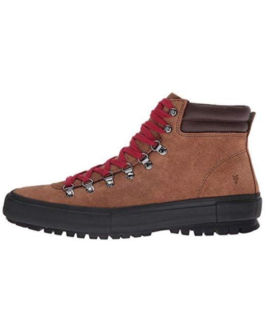 0326f772b ... Frye Multicolor Ryan Lug Hiker Ankle Bootie for men ...