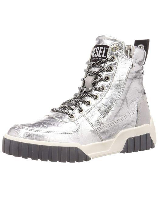 DIESEL Metallic Damen Le S-RUA W Sneaker Mid