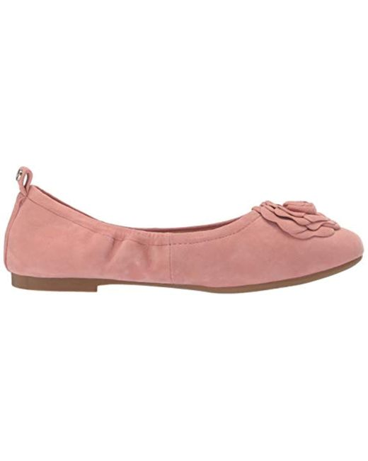 Select SZ//Color. Taryn Rose Womens Elene Haircalf Ballet Flat