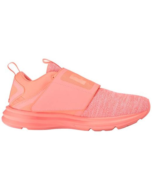Lyst - PUMA Enzo Strap Knit Sneaker in Pink - Save 11% 41fa1a332