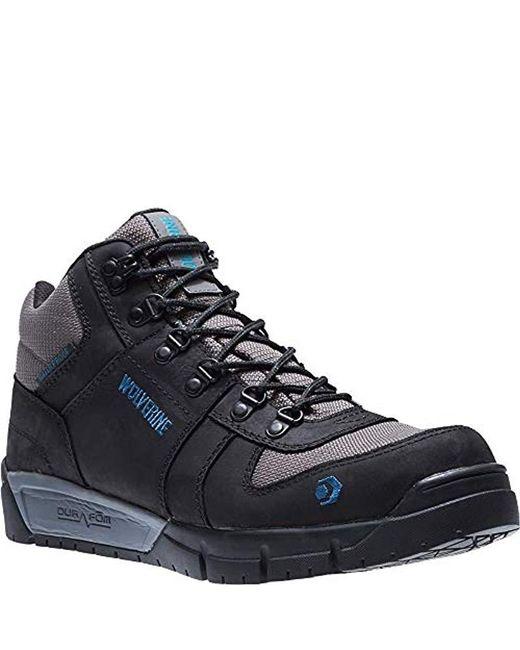 e267476d05d Men's Black Mauler Hiker Composite Toe Waterproof Work Boot