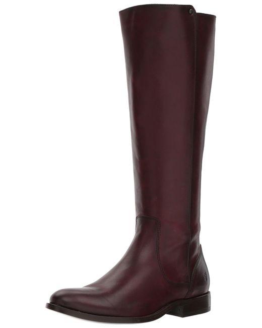 Frye Multicolor S Melissa Stud Back Zip Leather Boots