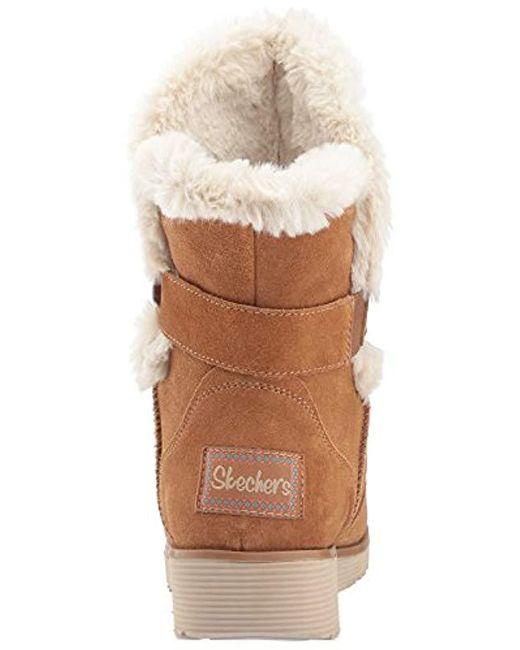 Women's Brown Mid Apex Winter Boot,tan,9 M Us