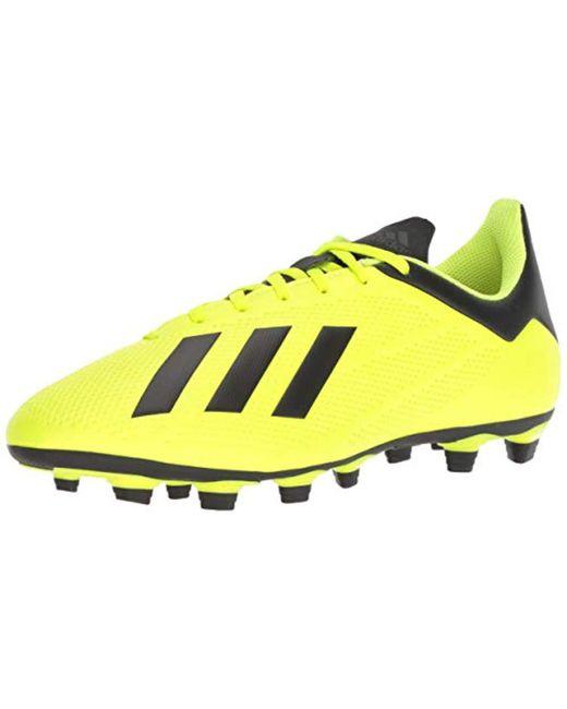 huge discount 4610c f773c Men's Yellow X 18.4 Firm Ground Soccer Shoe