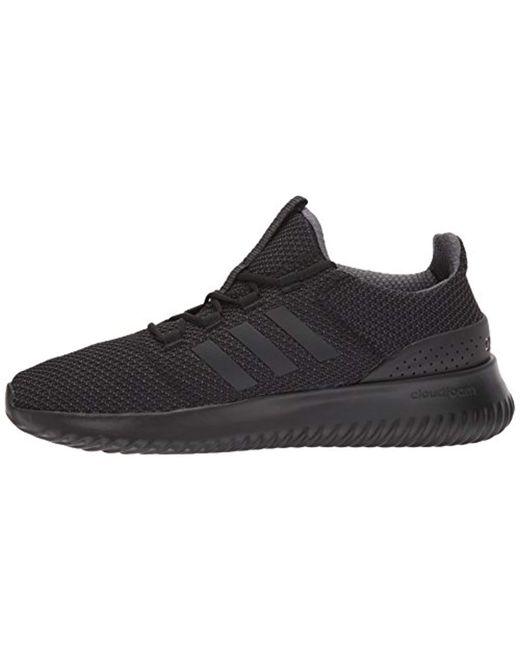 adidas Cloudfoam Ultimate Running Shoe Utility Black, 6 M Us