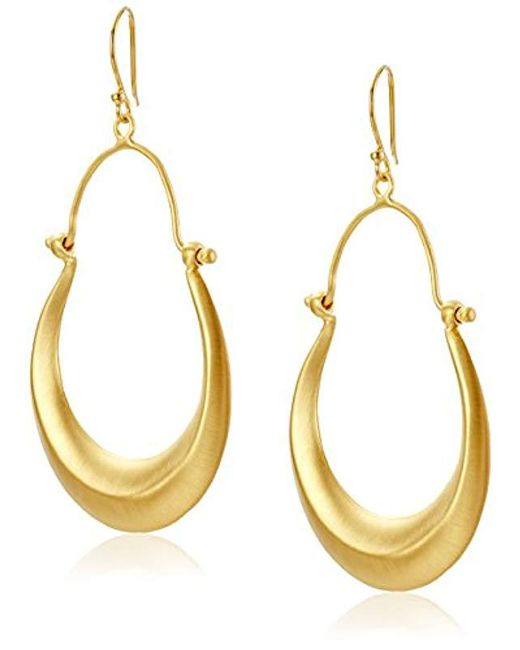 Satya Jewelry - Metallic Chandelier Hoop Earrings - Lyst