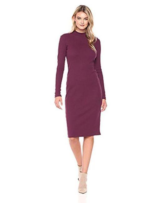 Catherine Malandrino Purple Kristiana Dress
