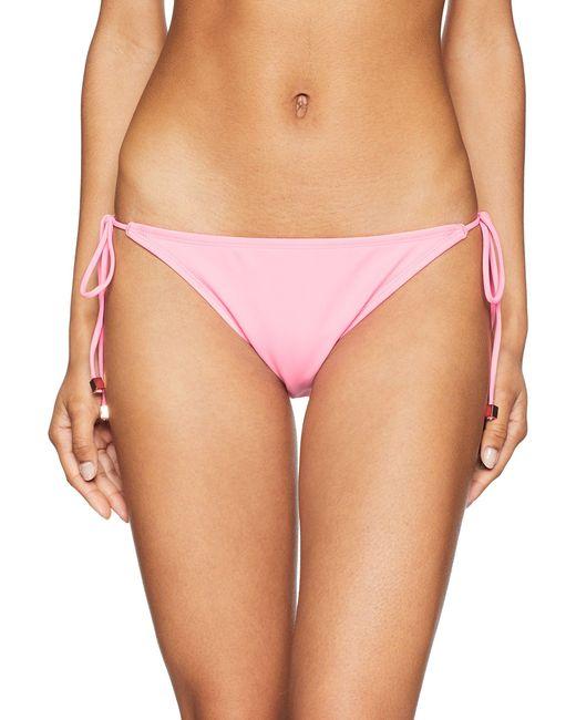 RACHEL Rachel Roy Pink Swim Bottom With Side Straps