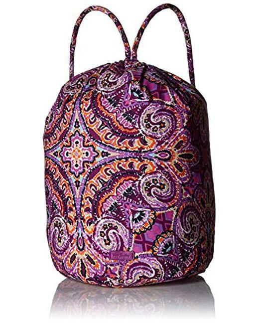 Vera Bradley - Purple Iconic Ditty Bag f8bfb0527a729