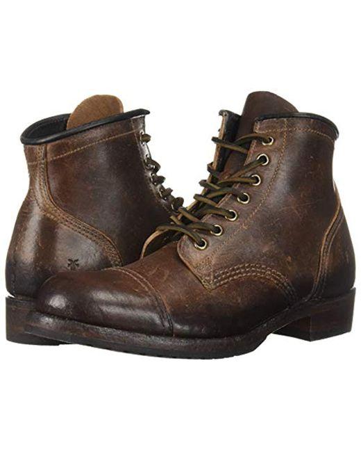9d0643b3baf Men's Brown Logan Cap Toe Fashion Boot