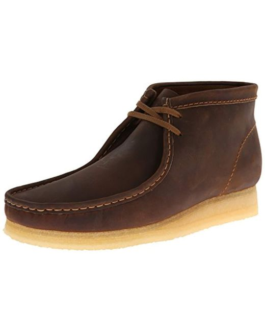 Clarks - Brown Wallabee Boot Chukka for Men - Lyst