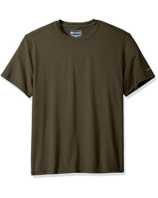 G.H.BASS - Multicolor Explorer Performance Melange Jersey Short Sleeve Tee for Men - Lyst