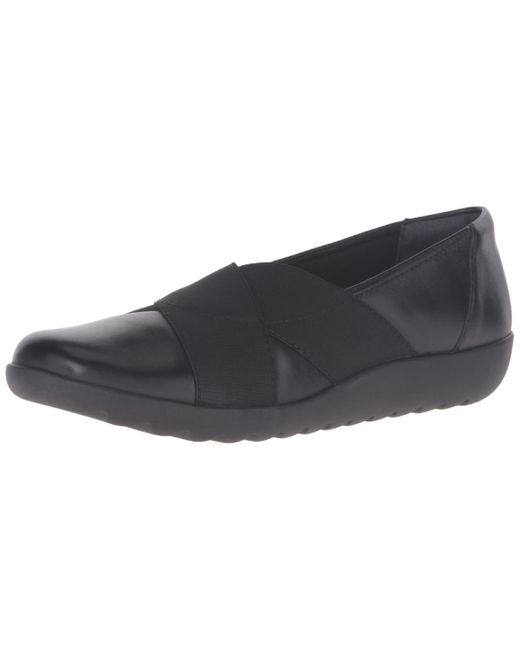 Clarks Black Medora Jem Slip-On Loafer