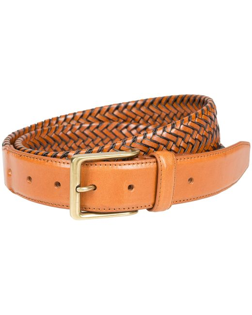 Lee Jeans Multicolor Freedom Stretch Braid Leather Belt for men