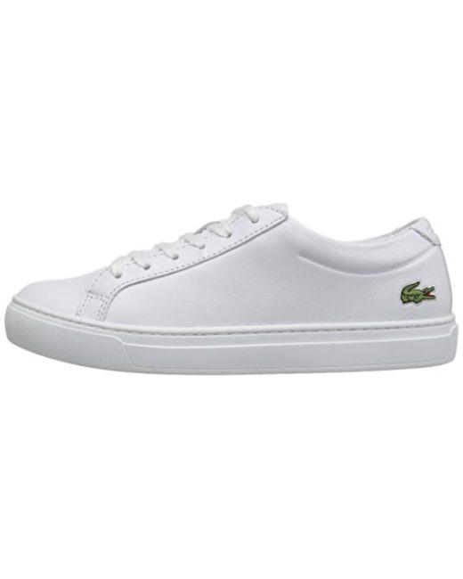 9df751df14e74 Lacoste L.12.12 117 1 Fashion Sneaker in White - Save 38% - Lyst