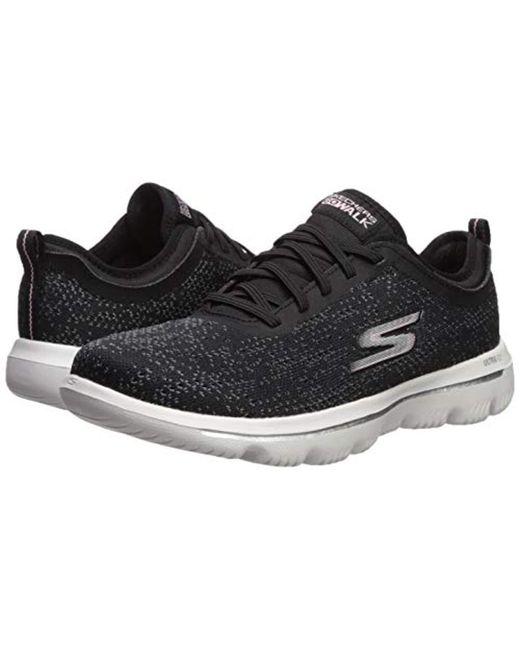 7de50997fab72 Women's Black Go Walk Evolution Ultra-mirable Sneaker