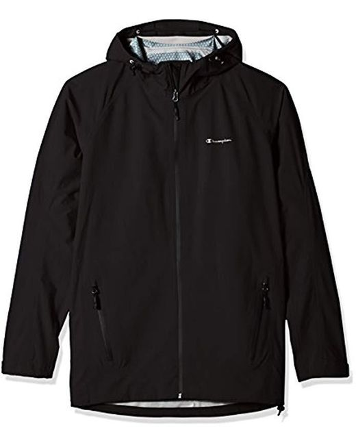 Champion - Black Stretch Waterproof All-weather Jacket - Tall Sizes for Men - Lyst