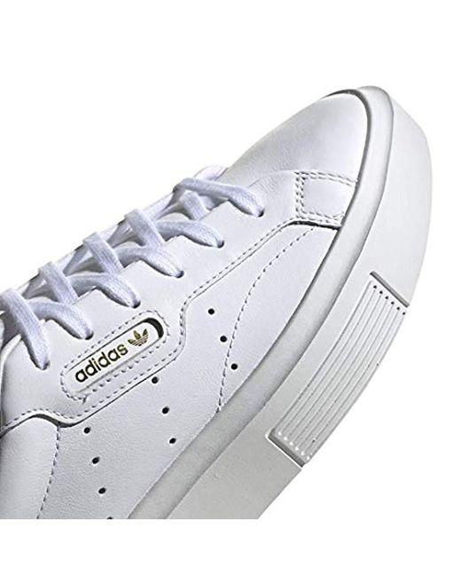 97566be36dec2 Women's White Sleek Super Sneaker