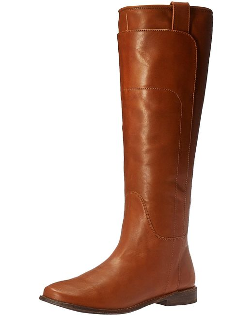 Frye Brown Paige Tall Riding Boot