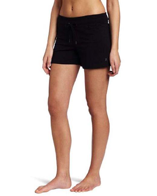 Danskin Black Drawcord Short