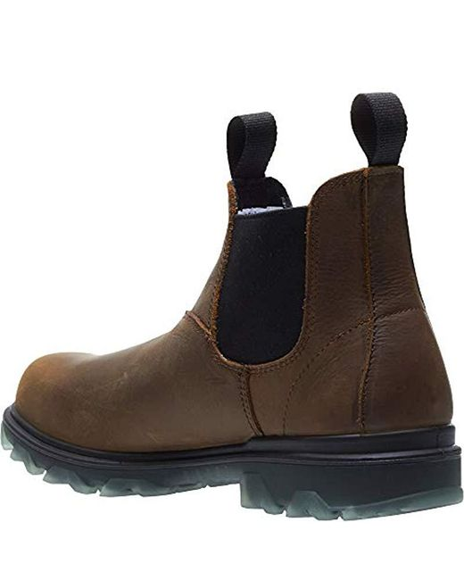 b6f93cc3579 Men's Brown I-90 Waterproof Composite-toe Romeo Slip-on Construction Boot