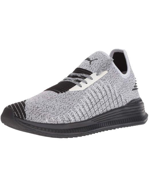 PUMA Black Avid Evoknit Sneaker for men