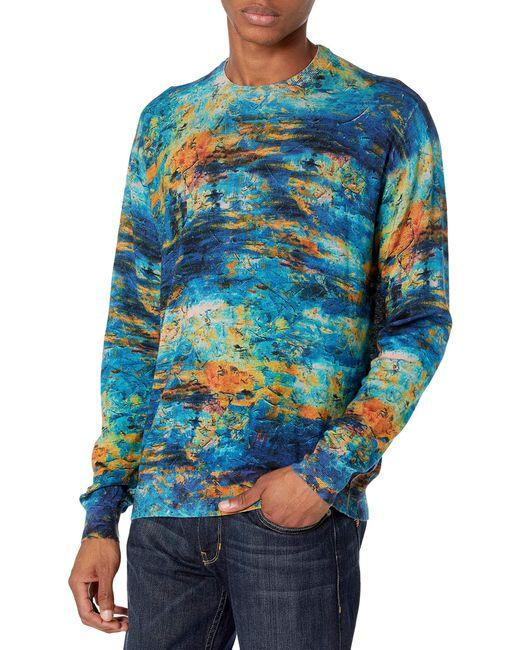 Robert Graham Blue Art Amour L/s Sweater for men