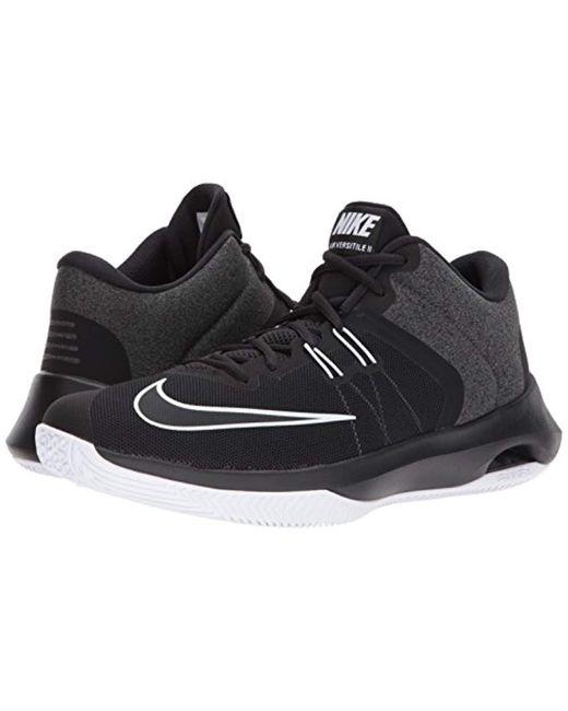 reputable site d5bd9 cb1a3 ... Nike - Black Air Versitile Ii Nbk Basketball Shoe for Men - Lyst ...