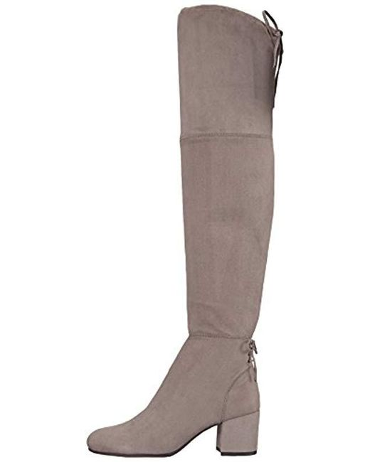 6af9303e27b8eb ... Circus by Sam Edelman - Gray Virginia Over The Over The Knee Boot - Lyst  ...