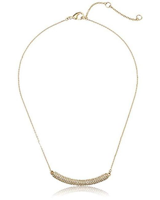 "Nina - Multicolor ""pave N-angelee Necklace - Lyst"