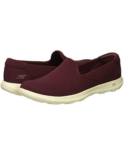 Skechers Women/'s Go Walk Lite Heavenly Loafer Flat