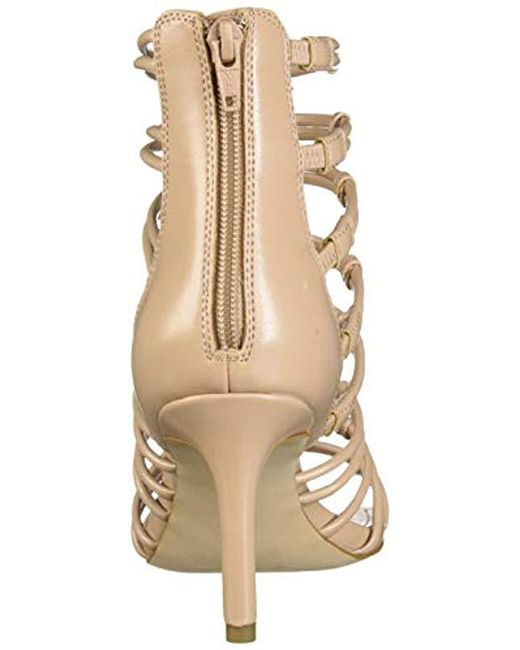 691b7d5cb9 BCBGeneration Maria Strappy Sandal Pump in Natural - Save 25% - Lyst