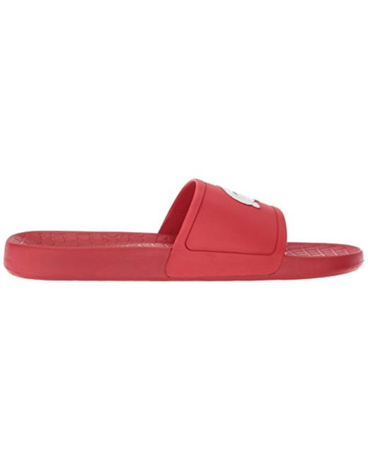 74b14425 Men's Red Fraisier Slides Sandal