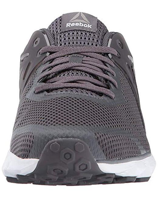 d62718f2738 ... Reebok - Gray Hexaffect 5.0 Mtm Running Shoe for Men - Lyst ...