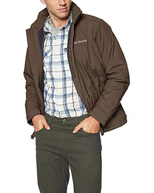 Columbia Brown Northern Bound Jacket for men
