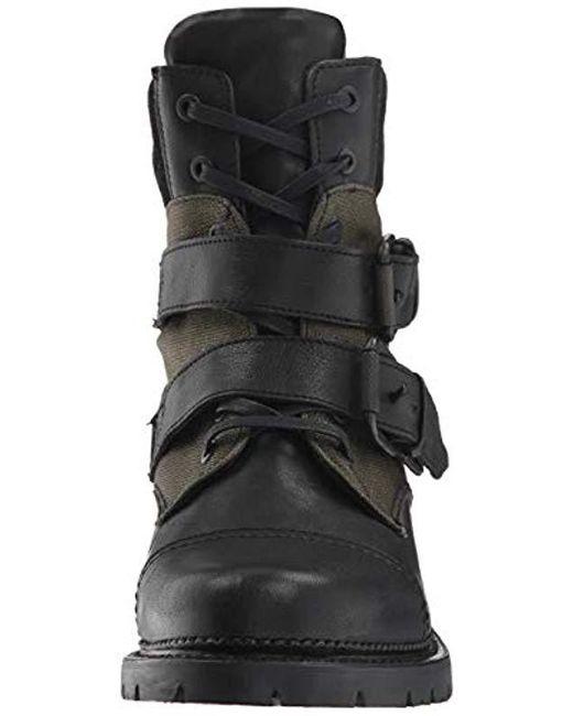 ca4713cf807 Women's Black Samantha Belted Hiker Hiking Boot
