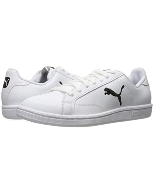 Men's White Smash Cat L Fashion Sneaker