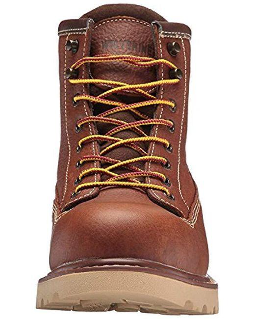 2c2affd657c Men's Brown Floorhand Ii Waterproof Soft-toe 6