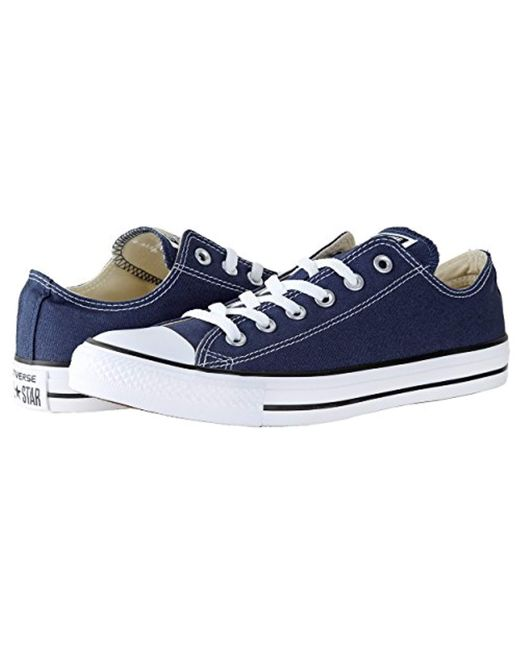 7acf634306ae ... Converse - Blue Chuck Taylor All Star Core Ox for Men - Lyst ...