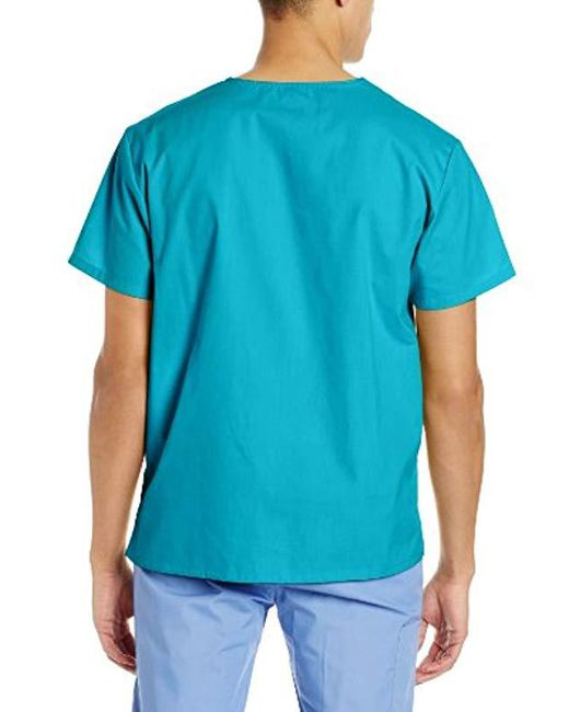 3ea6cdbd870 Lyst - Dickies Big & Tall V-neck Scrub Top in Blue for Men - Save 8%