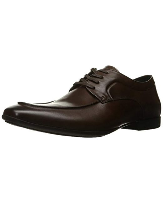 Kenneth Cole Reaction - Brown Auto-pilot Oxford for Men - Lyst
