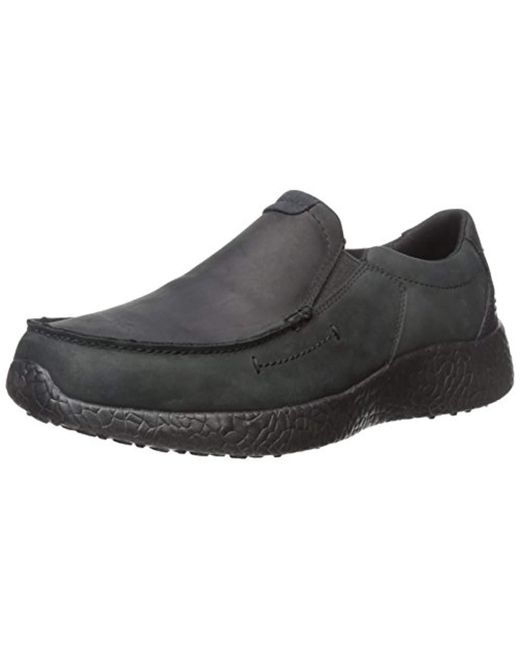 e7b99216c4e7 Skechers - Black Usa Burst Valid Slip-on Loafer for Men - Lyst ...