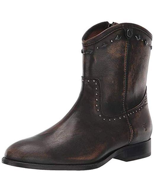 4165ee4ba74 Women's Brown Melissa Button Multi Stud Short Ankle Boot